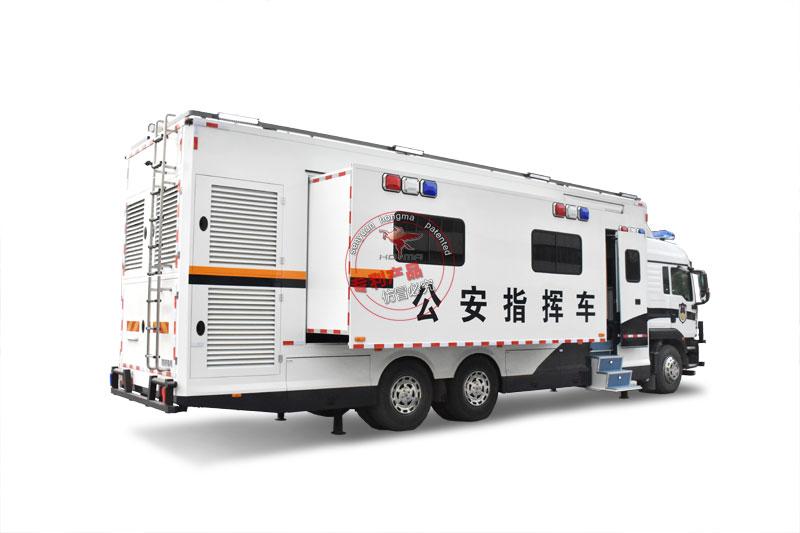 12米汕德卡應急通信指揮平台