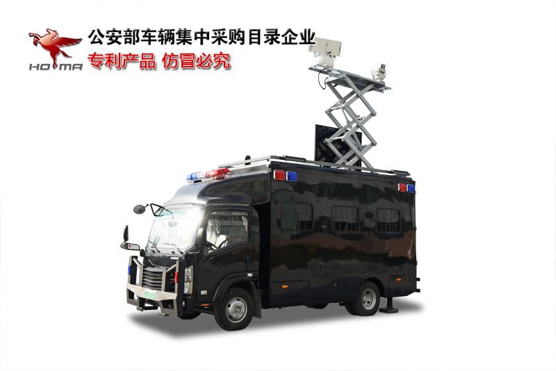 森源鸿马無人機低空防禦車